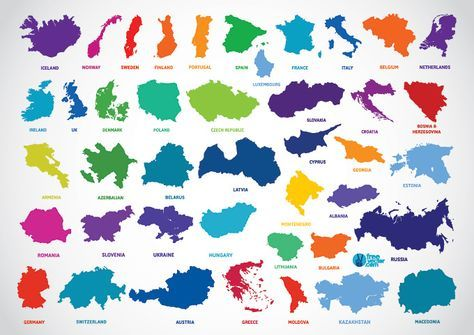 474x335 Europe Country Outline Map Vectors (Free) Free Vector Archive