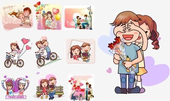 563x336 Wedding Couple Vector Free Vector Download (2,142 Free Vector) For