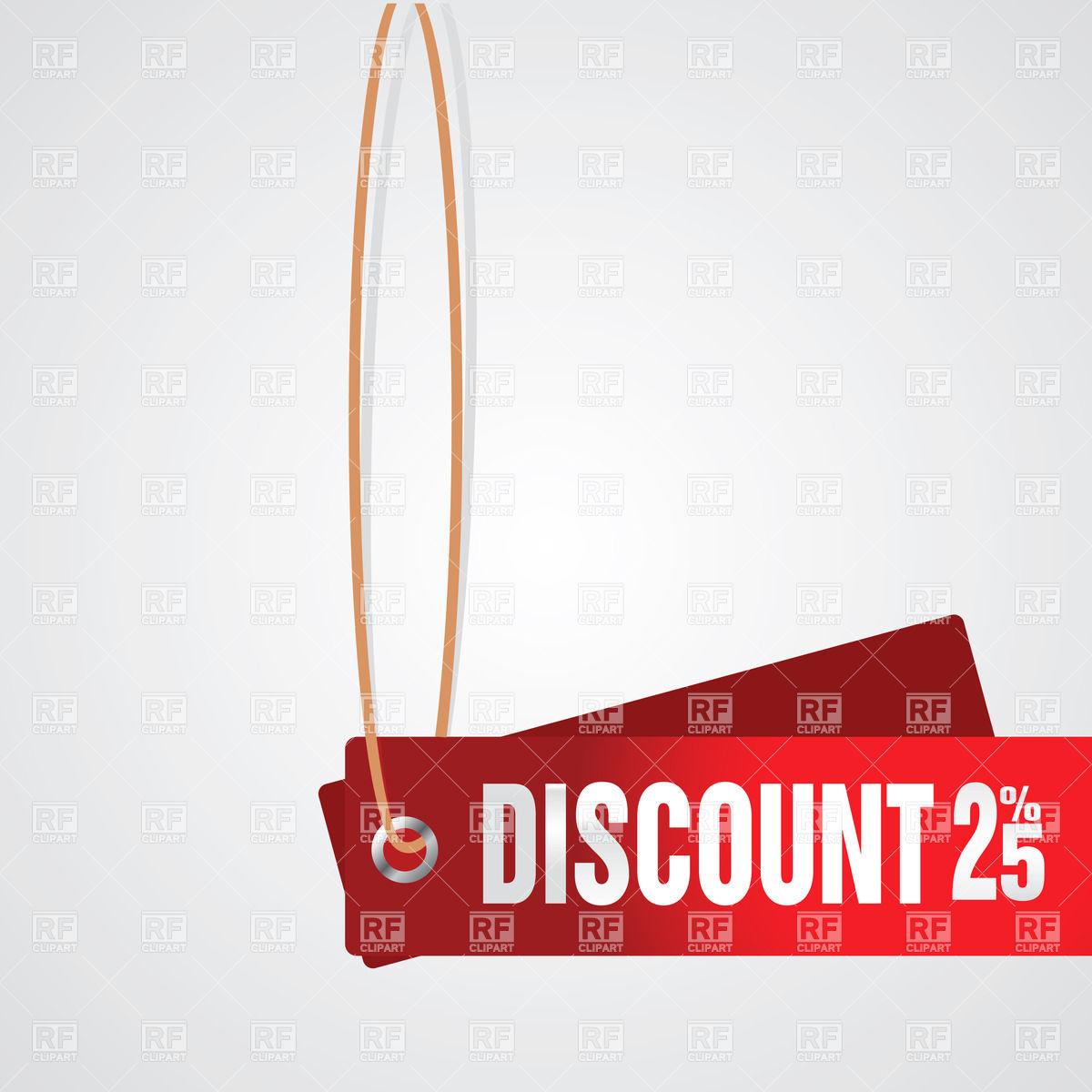 1200x1200 Discount 25% Coupon Vector Image Vector Artwork Of Design