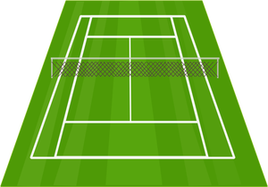 300x209 134 Free Tennis Court Vector Public Domain Vectors