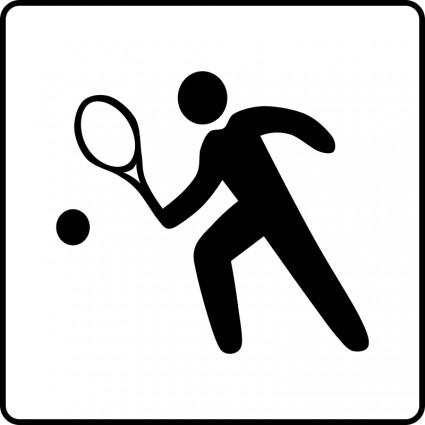 425x425 Hotel Icon Has Tennis Court Vector Free Vector Download In .ai