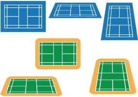 285x200 Badminton Court Free Vector Graphic Art Free Download (Found 157
