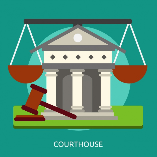 626x626 Courthouse Background Design Vector Free Download