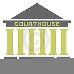 300x300 Courthouse Clipart Public Building ~ Frames ~ Illustrations ~ Hd