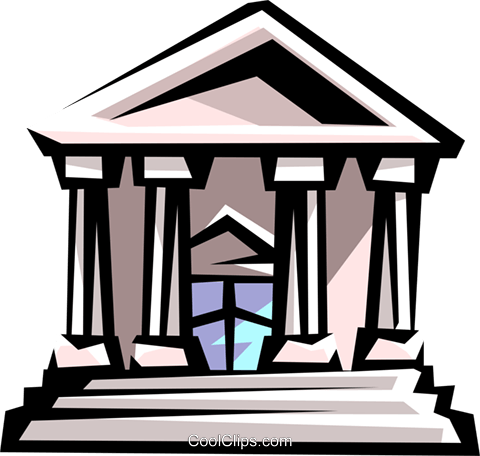 480x456 Courthouse Clipart Vector