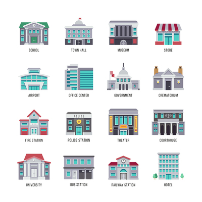 400x400 Courthouse On Curated Vector Illustrations, Stock Royalty Free