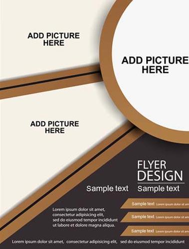 379x500 Brochures Covers Vector Design