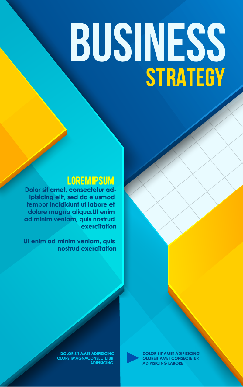 800x1272 Business Poster Cover Design Vector Free Vector Graphic Download