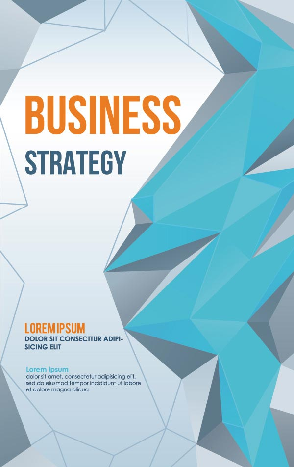 600x952 Business Poster Cover Vector Design