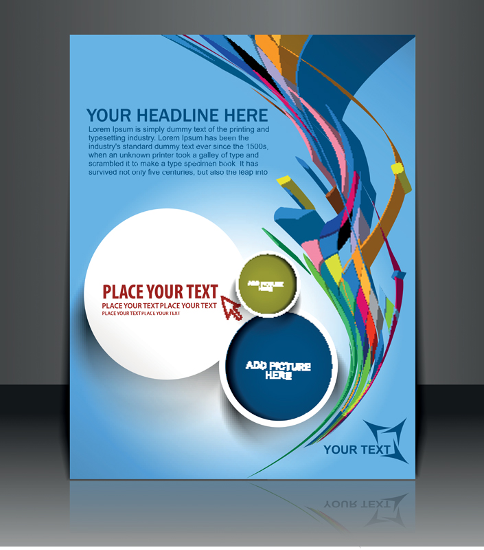 705x800 Elements Of Poster And Magazine Cover Design Vector Free Vector