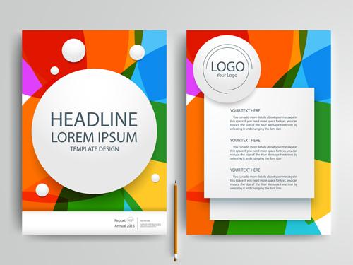 500x375 Flyer Or Brochure Cover Modern Design Vector 05