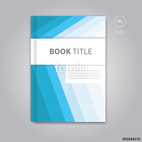 500x500 Vector Book Cover Template Design Brochure Background Layout