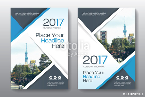 500x334 Blue Color Scheme With City Background Business Book Cover Design