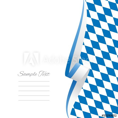 500x500 Bavarian Right Side Brochure Cover Vector