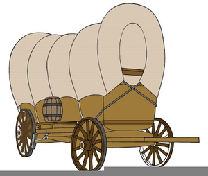 300x254 Pioneer Covered Wagon Clipart Free Images