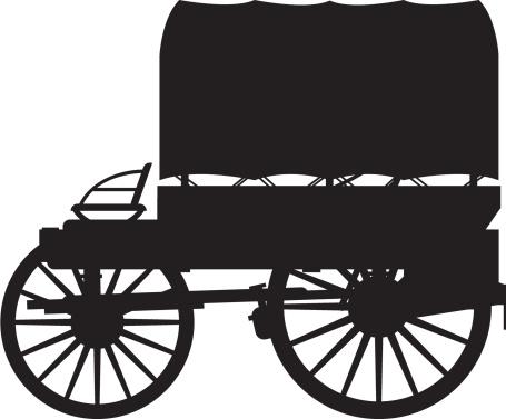 455x377 Wagon Clipart Vector 4038958