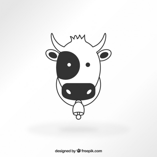 626x626 Cow Icon Vector Free Download