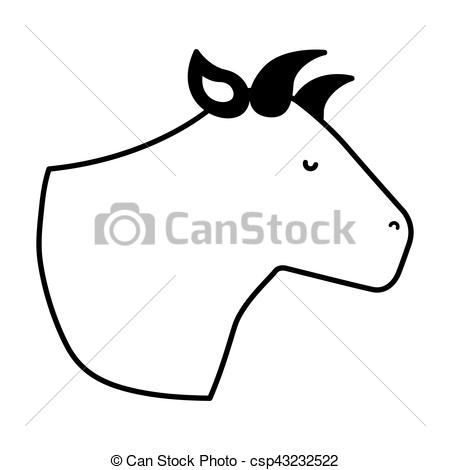 450x470 Cow Meat Butchery Icon Vector Illustration Design Vector