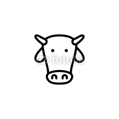 400x400 Cow Icon Vector Buy Photos Ap Images Detailview