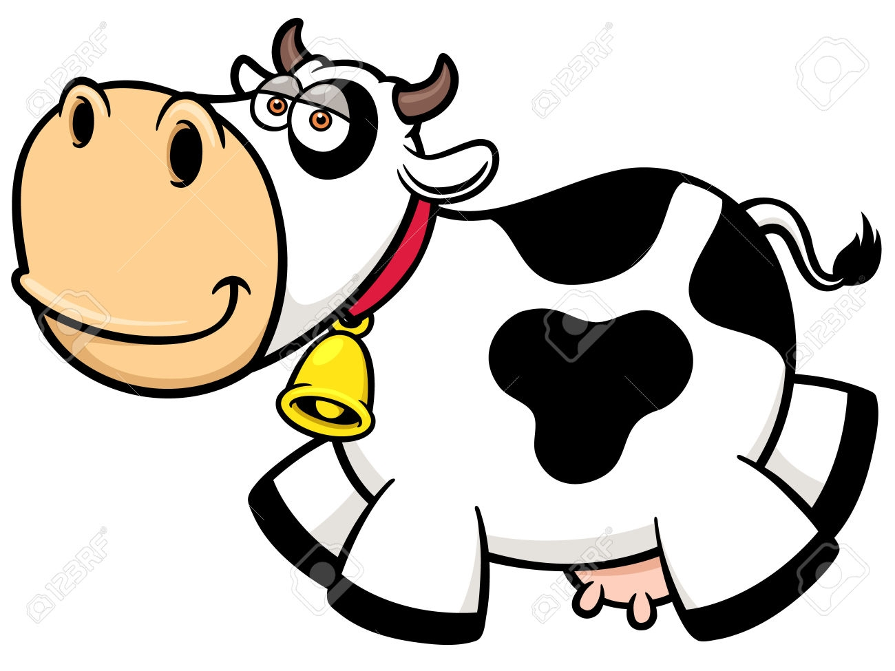 1300x975 Free Vector Graphic Cattle Cow Cowbell Silhouette Jalt9is Image