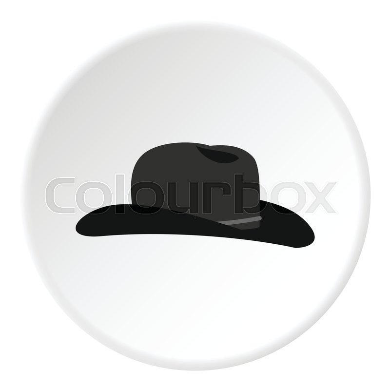 800x800 Cowboy Hat Icon. Flat Illustration Of Cowboy Hat Vector Icon For