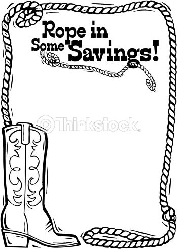 349x492 Lasso Rope Clip Art Corner Border Heading Rope In Some Savings