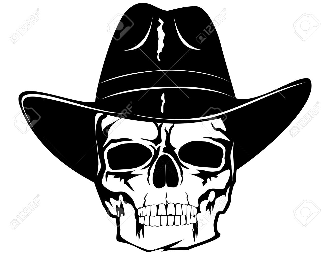 1300x1004 Cowboy Clipart Skull Free Collection Download And Share Cowboy