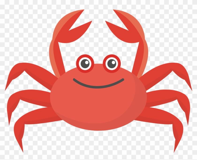 840x682 Crab Colorful Run Euclidean Vector Illustration
