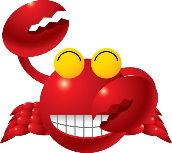 586x524 Crab Vector Free Vector In Adobe Illustrator Ai ( .ai ) Vector