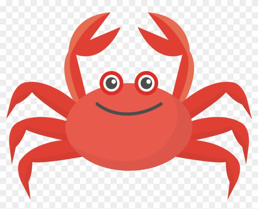 840x682 Crab Colorful Run Euclidean Vector Illustration