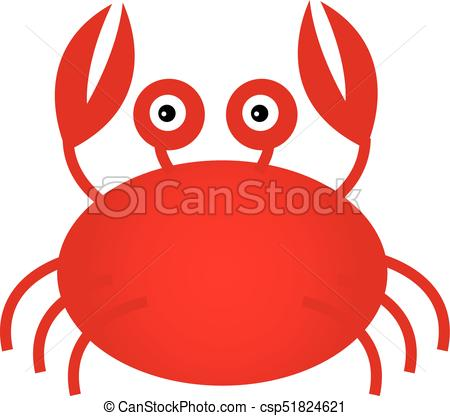 450x416 Vector Cute Cartoon Crab. Vector Cute Cartoon Crab. Vector Crab