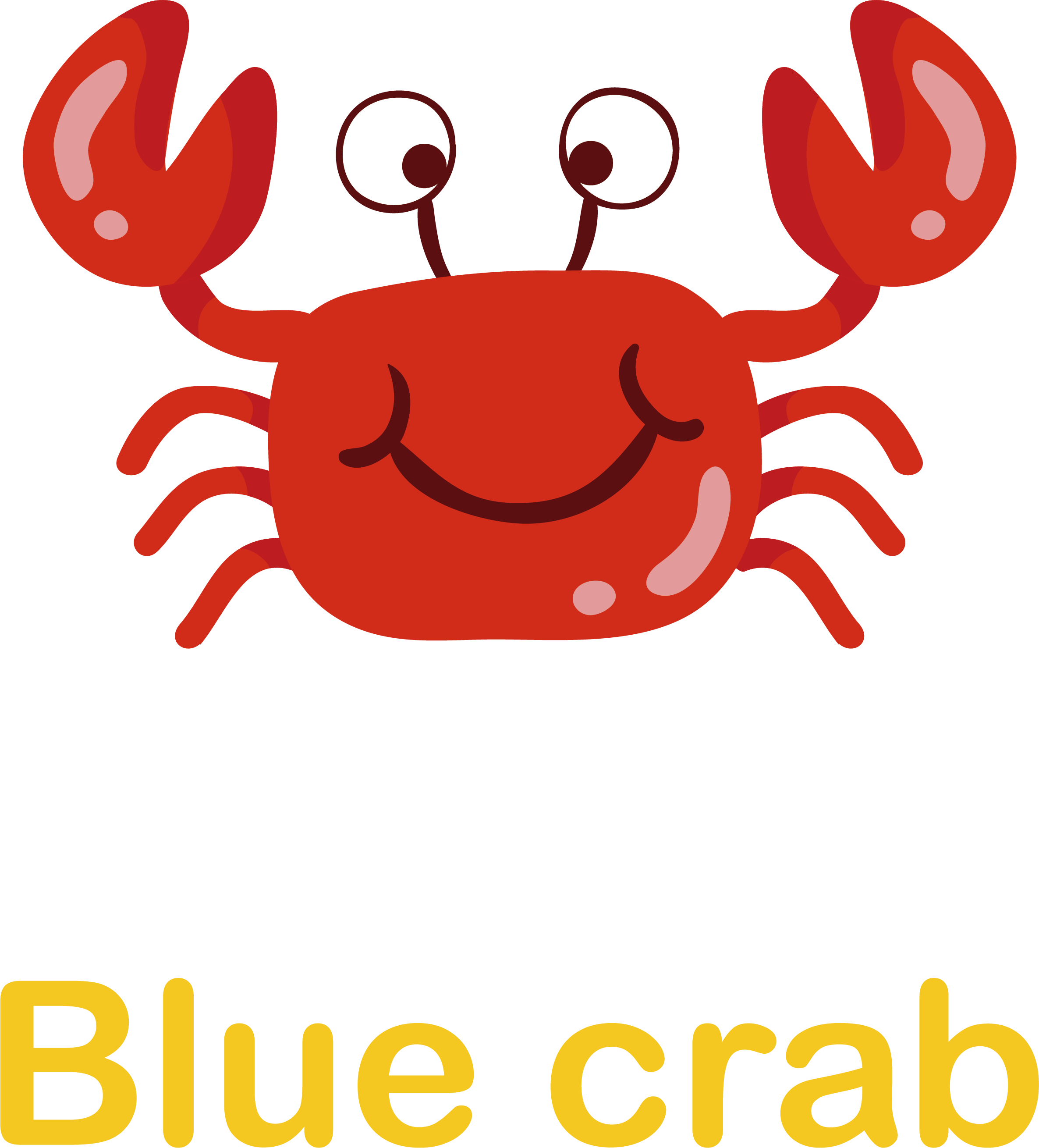 2371x2619 Crab Cartoon Clip Art