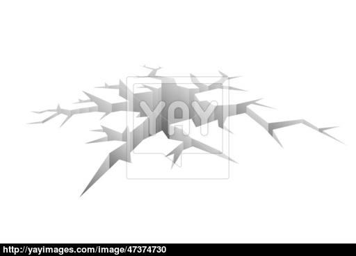 512x369 Design Vector Crack Vector