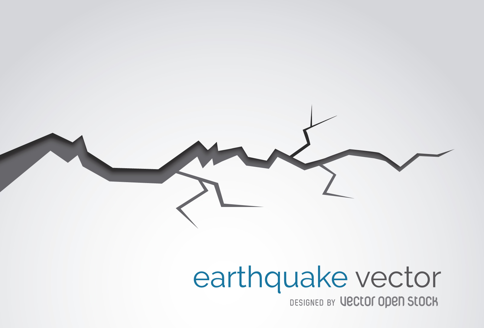 1601x1084 Collection Of Earthquake Drawing Crack High Quality, Free