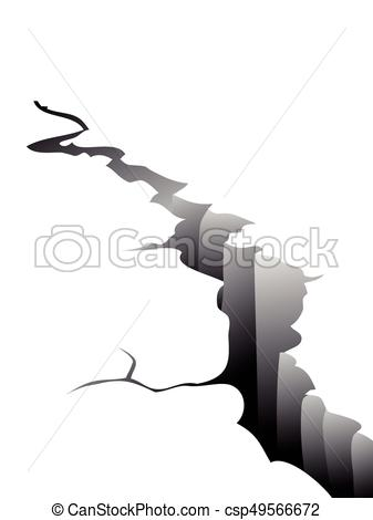 337x470 The Background Of Earth Crack For Design.