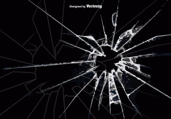 700x490 Vector Cracked Glass Background Free Vectors Ui Download