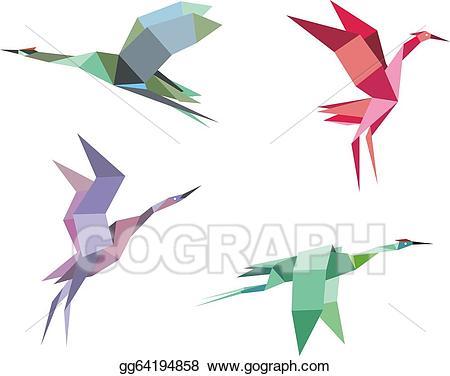 450x376 Crane Clipart Crane Bird ~ Frames ~ Illustrations ~ Hd Images