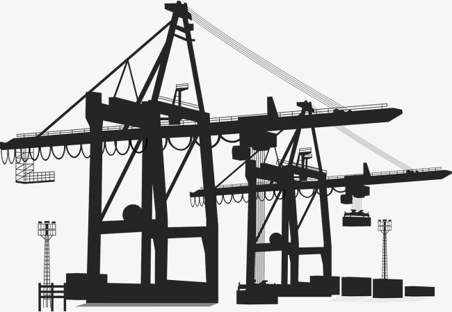 650x449 Handling Tower Crane, Vector Tower Crane, Handling Tools, Move The