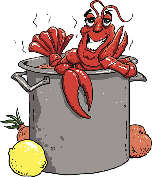photograph relating to Crawfish Boil Invitations Free Printable named Crawfish Boil Vector at  Totally free for particular person