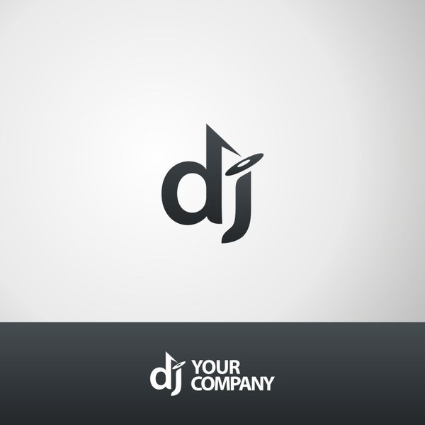 600x600 Dj Logo Template U2013 41 Free Psd Eps Vector Ai Illustrator