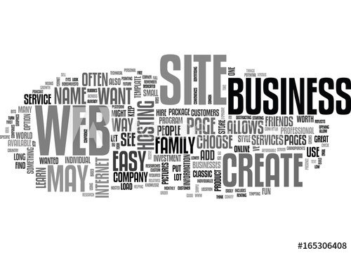500x361 Learn How To Create A Web Site Text Background Word Cloud Concept