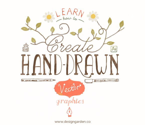 580x500 Learn How To Create Hand Drawn Vector Graphics, Online Class