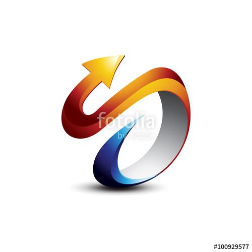500x500 3d S Logo Vector Wwwpixsharkcom Images Galleries With A Bite!, 3d