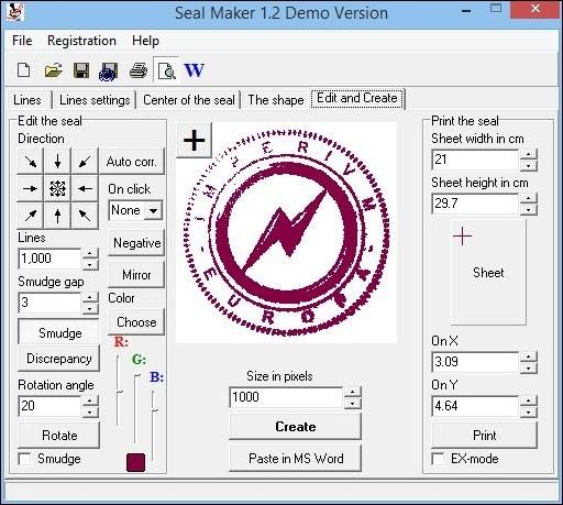 512x459 Seal Maker 1.2 Free Download