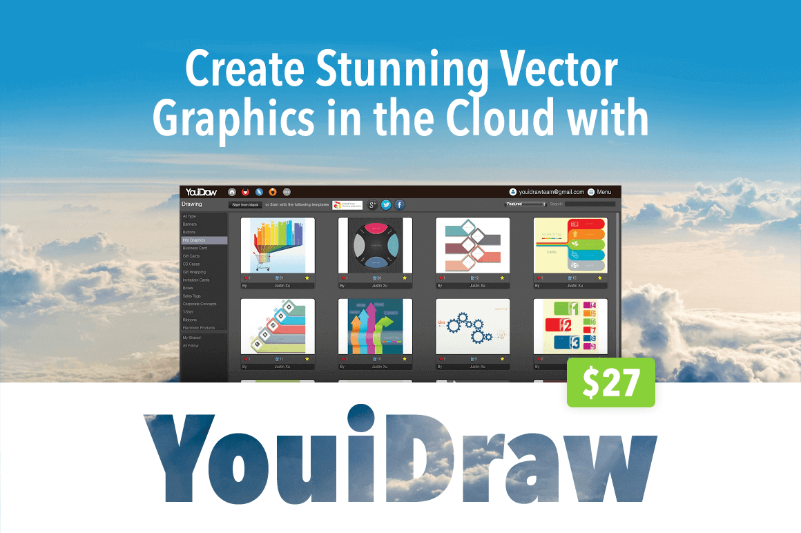 1160x772 Create Stunning Vector Graphics In The Cloud With Youidraw