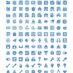 250x250 Free 210 Vector Icons For Web Design And Wireframing