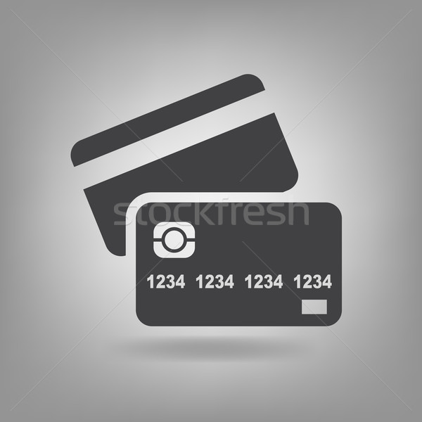 600x600 Vector Flat Credit Cards Icons. Symbol About Payment Or Currency