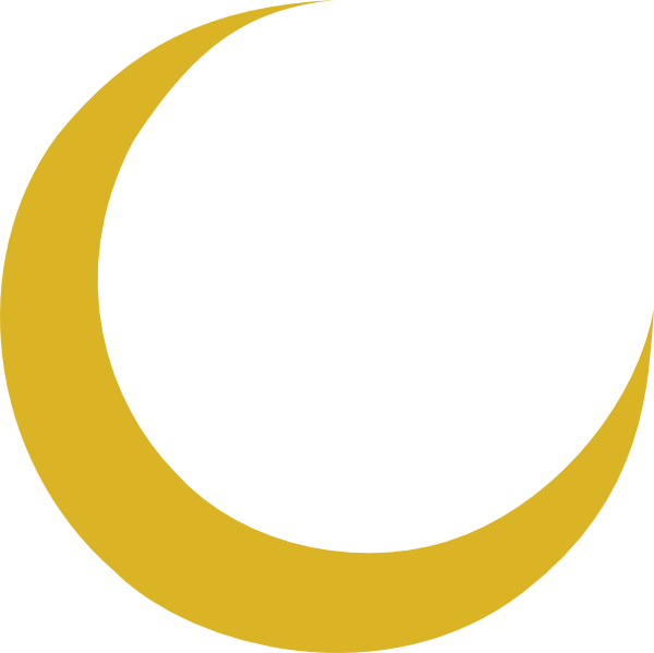 Crescent Moon Vector Art