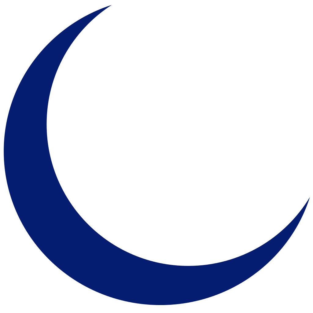 Crescent Moon Vector Free