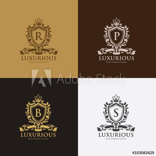 500x500 Luxury Boutique Identity,real Estate,property,royalty Logo,hotel